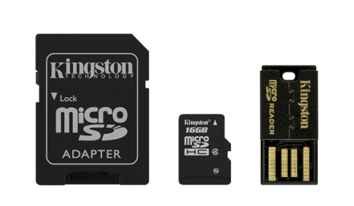Kingston 16 GB microSDHC/SDXC