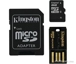 Kingston 8 GB microSDHC/SDXC