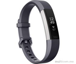 Fitbit Alta HR Watch Plavo-siva Small