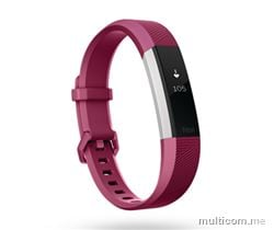 Fitbit Alta HR Watch Pink large