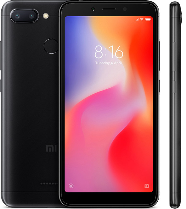 Xiaomi Redmi 6 3GB 32GB Black