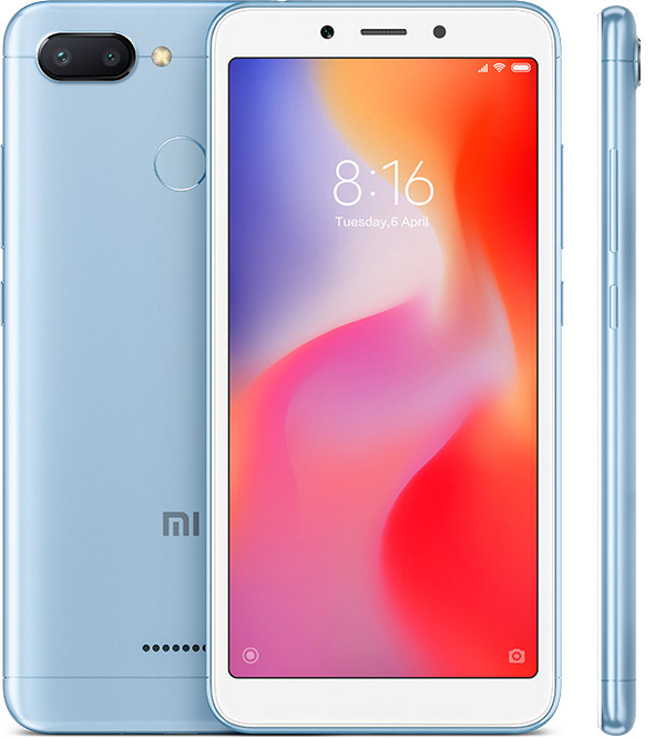 Xiaomi Redmi 6 3GB 32GB Blue