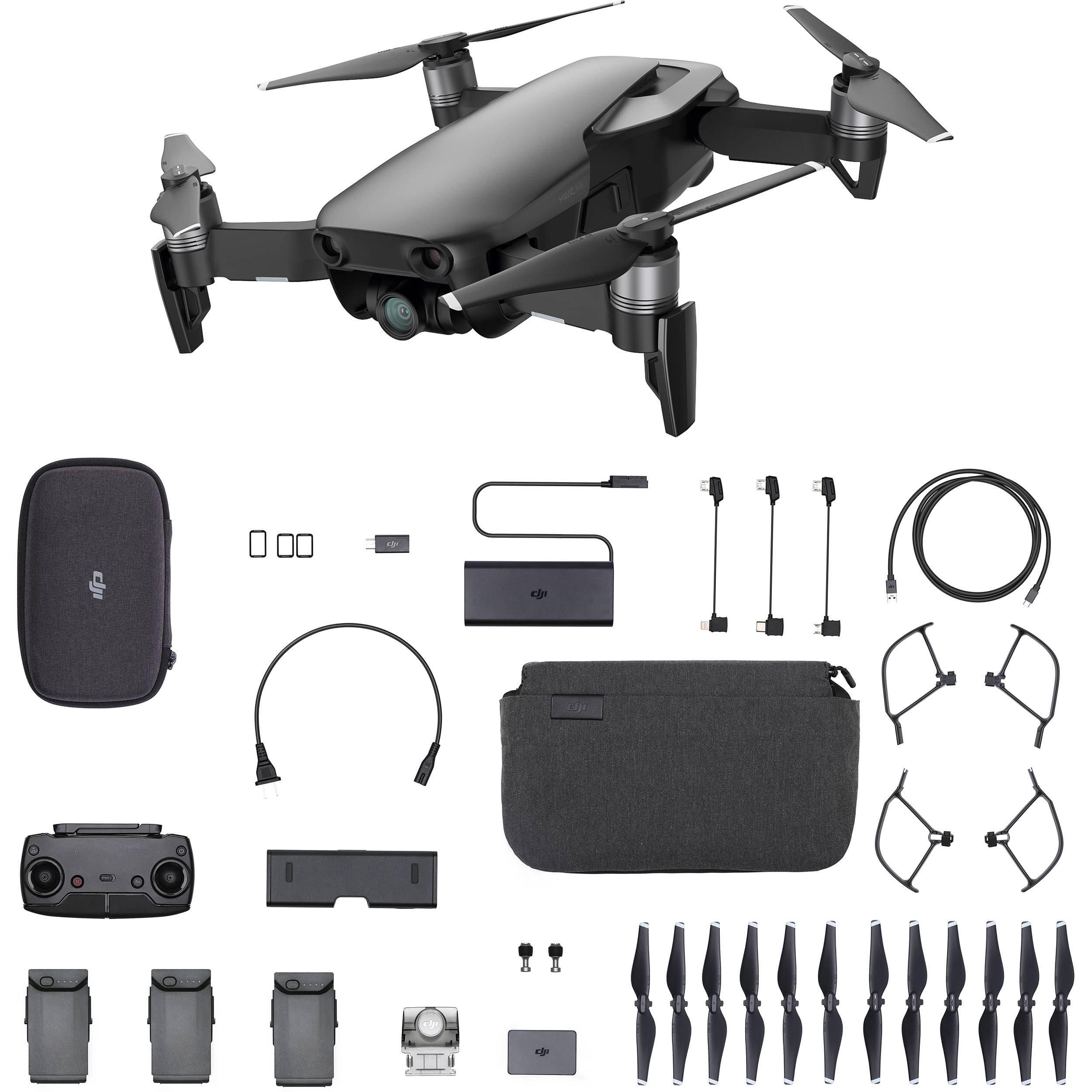 DJI AIR Fly More Combo Onyx Black