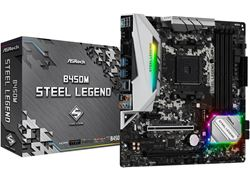 ASRock MB B450M Steel Legend