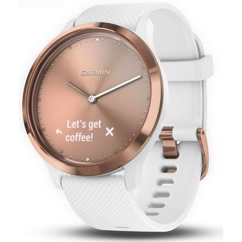 Garmin Vivomove HR Sport S M Rose Gold
