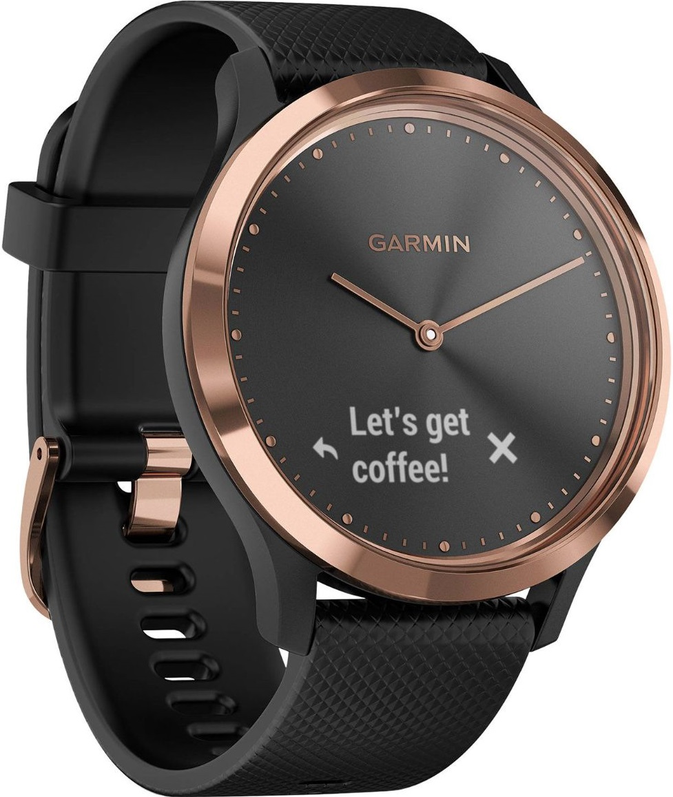 Garmin Vivomove HR Sport S M Black Gold