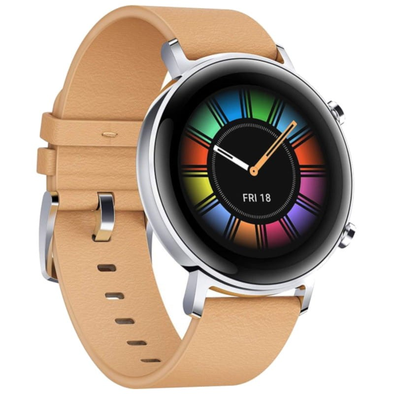 HUAWEI Watch GT 2 Classic 42mm Leather Beige